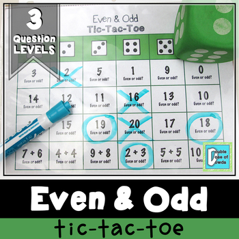 Even and Odd Tic-Tac-Toe Game