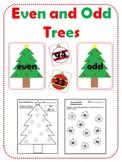 Even and Odd Trees - Christmas Math