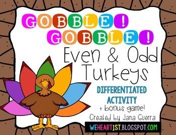 Even and Odd Turkeys (Thanksgiving Fun!)