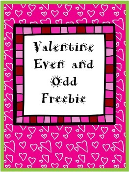 Even and Odd Valentine Freebie