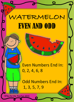 Even and Odd Watermelon Seed Game