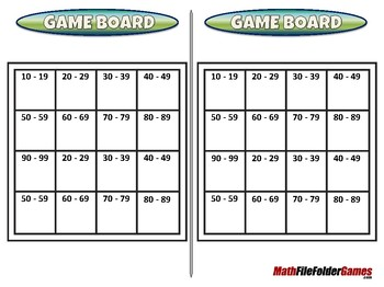 Even or Odd 2-Digit Bingo - 1st Grade Math Game [CCSS 1.NBT.B.3]