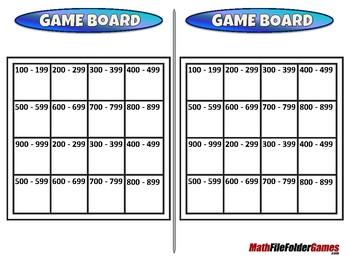 Even or Odd 3-Digit Bingo - 2nd Grade Math Game [CCSS 2.NBT.A.4]