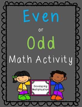 Even or Odd Activity
