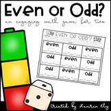 Even or Odd? An Engaging 2 Player Game