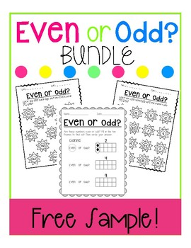 Even or Odd Bundle Free Sample