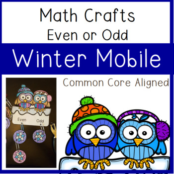 Even or Odd Craft: Winter Mobile
