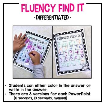 Even or Odd Fluency Find It