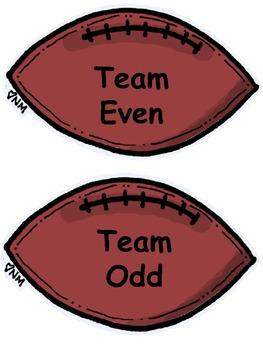 Even or Odd Football