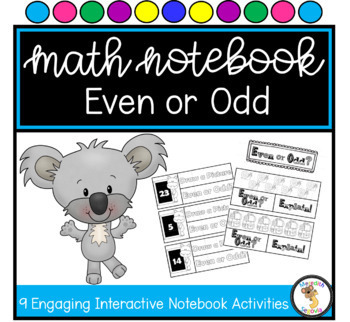 Even or Odd Interactive Notebook Unit