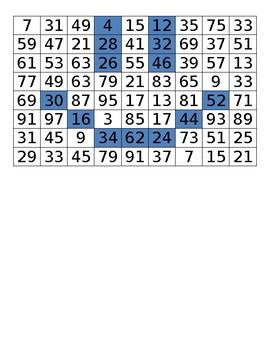 Even or Odd Math Worksheet