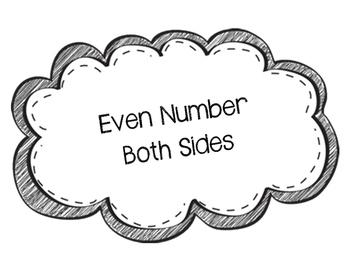 Even or Odd Number Dominos