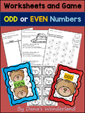 Odd and Even Worksheets (2nd Grade)