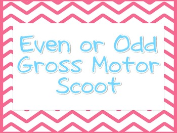 Even or Odd SCOOT