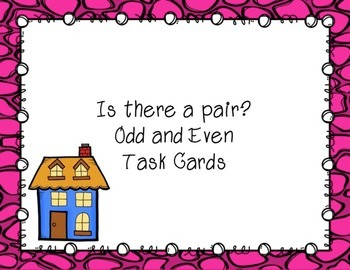 Even or Odd Task Cards