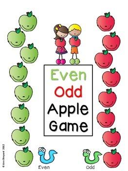 Even/Odd Apple Game