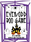 Even/Odd Boo Game for Fall/Halloween