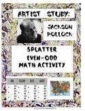 Even and Odd Splatter Painting With Jackson Pollock