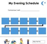 Evening Visual Schedule