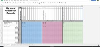 Evenly Weighted Gradebook (Online)