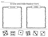 Evens and Odds Number Sort