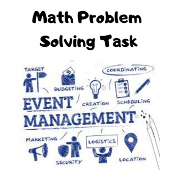 Event Management - Math Problem Solving Task