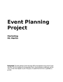 Event Planning Project