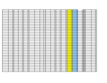 Event Ticket Sales Worksheet