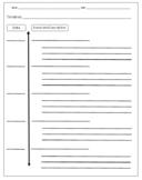 EDITABLE Event and Description Vertical Timeline