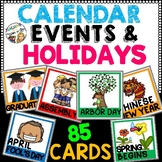 Event and Holiday Calendar Cards