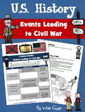Events Leading Up to Civil War Activity