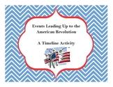 American Revolution - Timeline Activity (George Washington's Socks)
