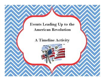 American Revolution - Timeline Activity (George Washington