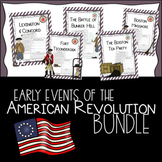 Early Events of the American Revolution BUNDLE