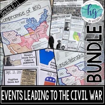 Events Leading to the Civil War Bundle