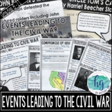 Events Leading to the Civil War Power Point Presentation (Print and Digital)