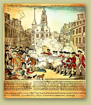 Events Leading to the Revolutionary War Information Sheets