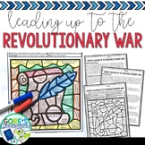 Social Studies Color by Number Events Leading up to the Revolutionary War