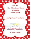 "LLI Red Kit ""I Can Reflect"" Worksheets Level N Lessons 66"