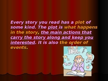Power point: Events: Plot in Literature