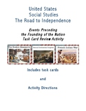 Events Preceding the Founding of the Nation-Task Card Activity