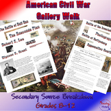 Events of the Civil War Gallery Walk