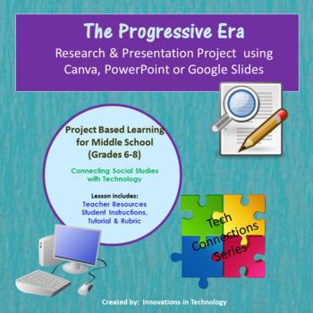 Events of the Progressive Era - Research & Presentation Project in Prezi