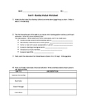 EverFi CLASSIC Financial Literacy Personal Finance Worksheet - 2 - Banking