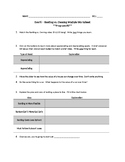 EverFi Financial Literacy Personal Finance Worksheet - 6 - Renting vs Owning