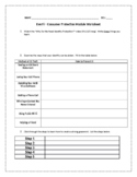EverFi Financial Literacy Personal Finance Worksheet - 8 - Consumer Protection
