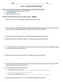 EverFi Financial Literacy Personal Finance Worksheet - Module 1 - Savings
