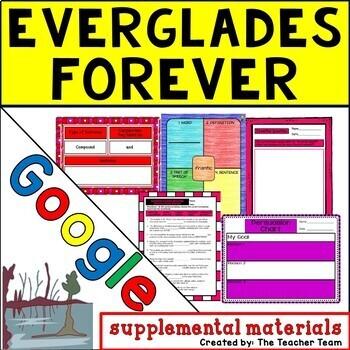 Everglades Forever Journeys 5th Grade Lesson 8 Google Digital Resource