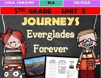 Journeys Grade 5 Trifold (Everglades Forever: Restoring Am