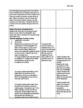 Everglades Lesson Plan